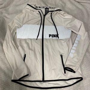 PINK Reflective Jacket!